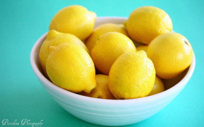Lemon water to alkalize your day